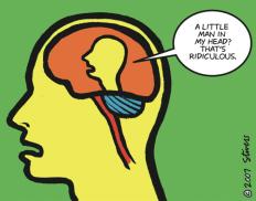 the gracious mind man inside head